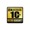 10 Years ZEN Sense Brushless Inverter Motor Warranty